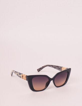 Окуляри сонцезахисні лисички з фурнітурою на дужках   248283-12-XX - A-SHOP