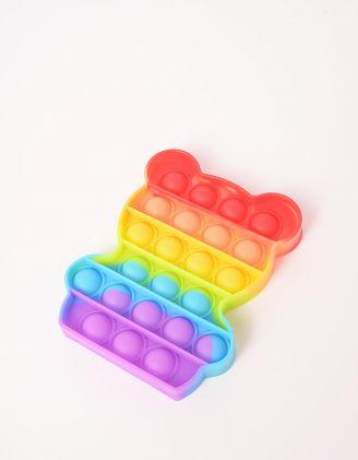 Іграшка антистрес pop it у формі ведмедика | 248579-21-XX - A-SHOP