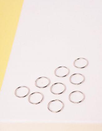 Кільця для волосся у наборі | 248005-05-XX - A-SHOP