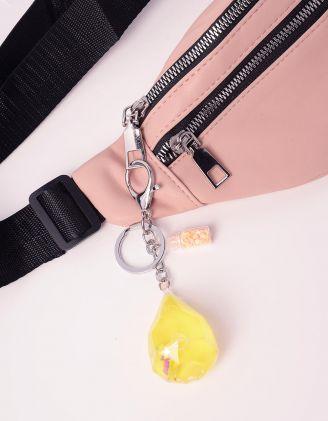 Брелок на сумку з єдинорогом та зірочками | 240423-19-XX