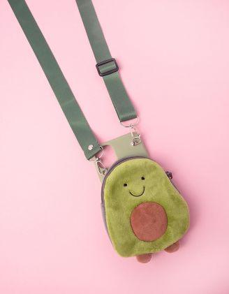 Чохол для телефону з авокадо та ремінцем | 245777-20-60 - A-SHOP