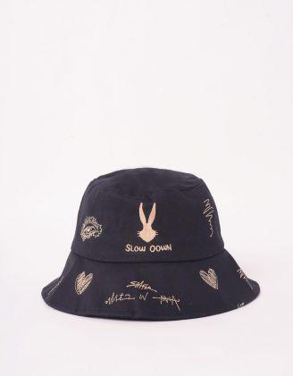 Панама з принтом кролика | 244385-02-XX - A-SHOP