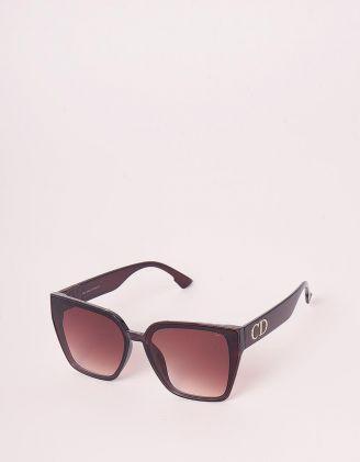 Окуляри сонцезахисні лисички з фурнітурою | 248639-12-XX - A-SHOP