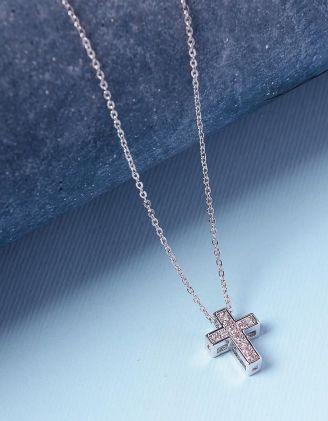 Підвіска з хрестом | 236246-06-XX - A-SHOP
