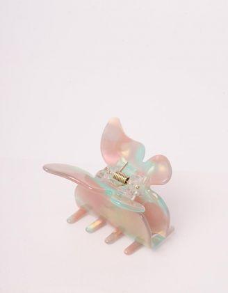 Шпилька для волосся крабік з метеликом | 244455-37-XX - A-SHOP