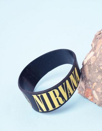 Бралет на руку з написом nirvana | 237090-02-XX - A-SHOP
