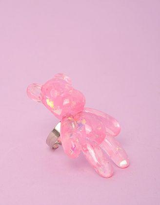 Кільце з  ведмедиком | 249721-14-XX - A-SHOP