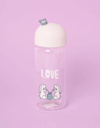 Пляшечка з принтом кроликів | 245565-01-XX - A-SHOP
