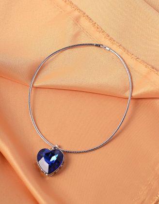 Колье на шию з кулоном у вигляді серця | 239219-61-XX - A-SHOP