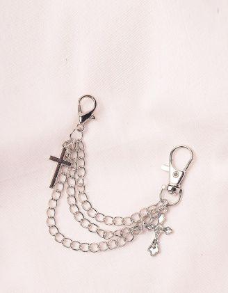 Ланцюжок на взуття з хрестами | 246080-05-XX - A-SHOP