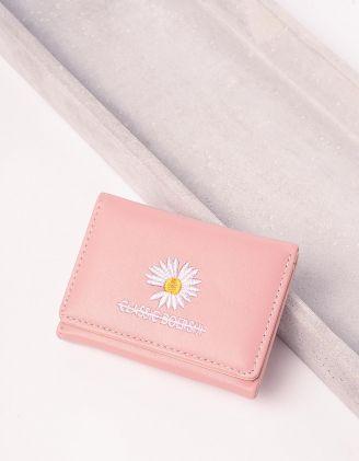 Гаманець портмоне з ромашкою | 242798-14-XX - A-SHOP