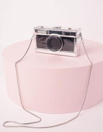 Сумка на довгому ремінці у вигляді фотоапарата | 245377-07-XX - A-SHOP