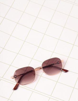 Окуляри від сонця вузькі з плетеними  дужками | 245445-12-XX - A-SHOP