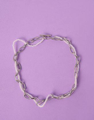 Підвіска на шию із ланцюжка та перлин | 249417-06-XX - A-SHOP