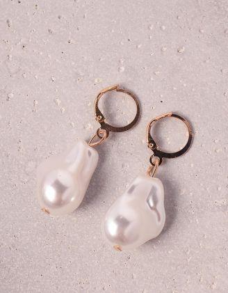 Сережки з перлинами | 248545-08-XX - A-SHOP