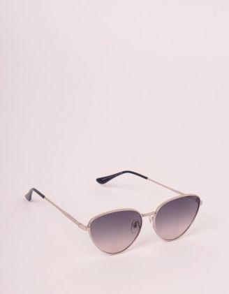 Окуляри сонцезахисні лисички з тонкими дужками | 248279-28-XX - A-SHOP
