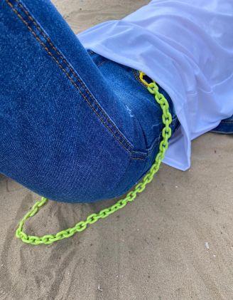 Ланцюжок на одяг кольоровий | 241145-20-XX - A-SHOP