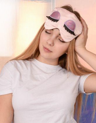 Пов'язка для сну з принтом очей | 239178-14-XX - A-SHOP