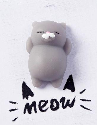 Сквіш лизун антистрес у вигляді кота | 229268-11-XX