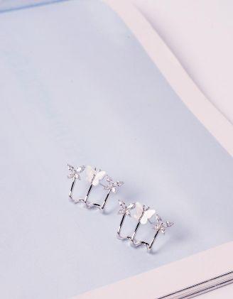 Сережки з метеликами | 240987-06-XX - A-SHOP