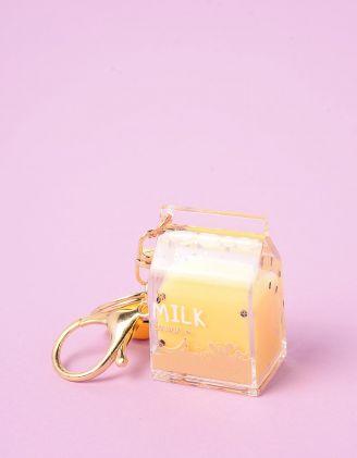 Брелок на сумку у вигляді пака молока | 245458-19-XX - A-SHOP