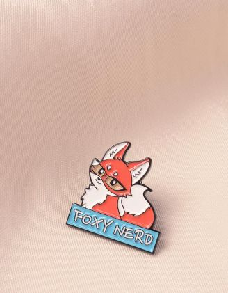 Брошка із зображенням лисички | 243717-26-XX - A-SHOP