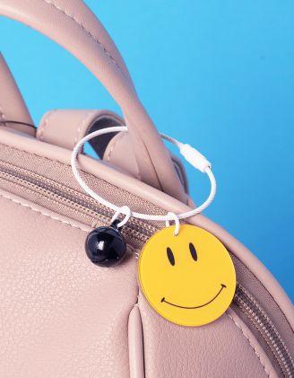 Брелок на сумку у вигляді смайлика | 237402-19-XX