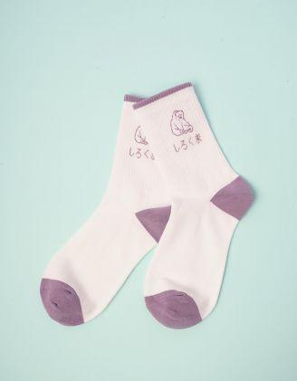 Шкарпетки зі смужкою | 244222-01-XX - A-SHOP