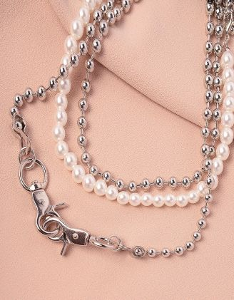 Намисто багатошарове із перлин та намистин | 244469-06-XX - A-SHOP
