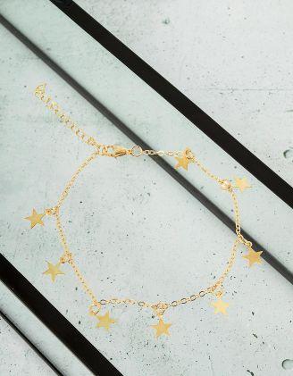 Браслет на ногу со звездами | 231558-04-XX - A-SHOP