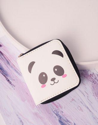 Гаманець з принтом панди | 239227-01-XX - A-SHOP