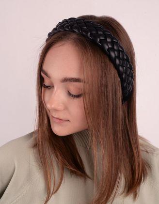 Обідок для волосся плетений | 248733-02-XX - A-SHOP