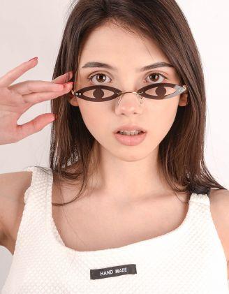 Окуляри у вигляді очей   243636-09-XX - A-SHOP