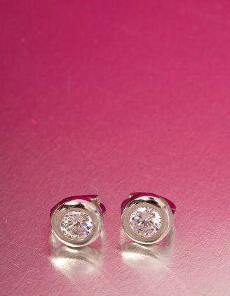Сережки маленькі з англійською застібкою | 221375-06-XX - A-SHOP