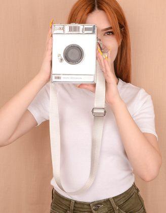 Сумка через плече у вигляді фотоапарата | 239357-05-XX - A-SHOP