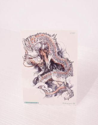 Тату тимчасове у вигляді дракона | 243369-11-XX - A-SHOP