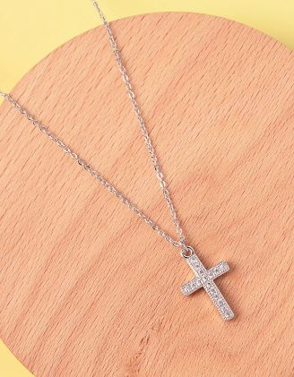 Підвіска з кулоном у вигляді хреста | 235945-06-XX - A-SHOP