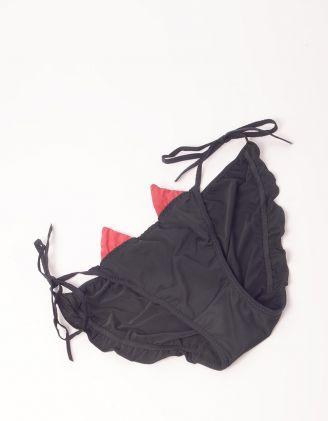 Трусики на зав'язках з ріжками | 249166-02-02 - A-SHOP