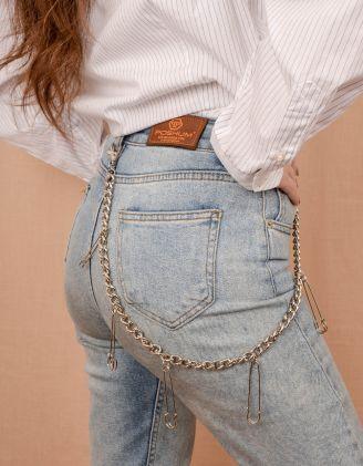 Ланцюжок для одягу з булавками | 240126-05-XX - A-SHOP