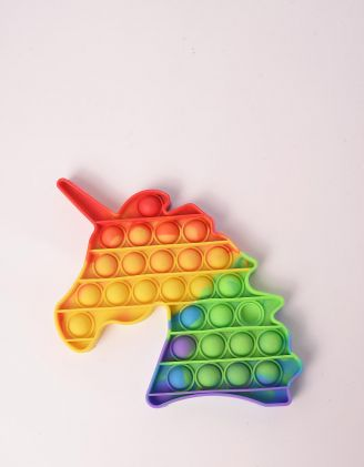 Іграшка антистрес pop it у вигляді єдинорога | 248577-21-XX - A-SHOP