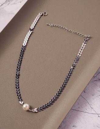 Підвіска на шию з перлиною   239715-05-XX - A-SHOP