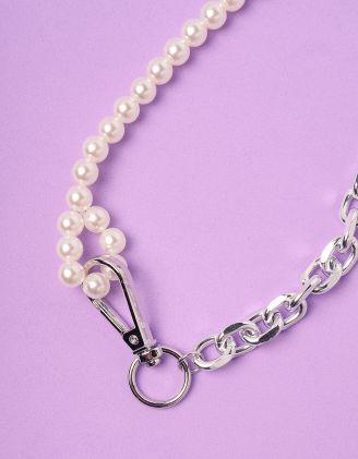 Підвіска на шию із ланцюга та перлин | 247268-06-XX - A-SHOP