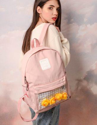 Рюкзак  об'ємний з іграшковими тваринками | 245838-14-XX - A-SHOP