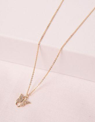 Підвіска на шию з кулоном у вигляді метелика | 246521-08-XX - A-SHOP
