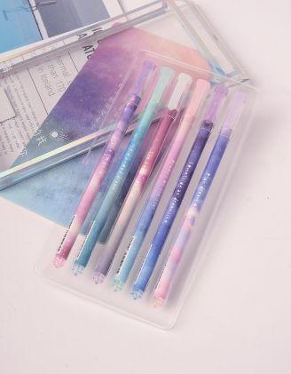 Ручки у наборі з принтом космосу | 238750-21-XX - A-SHOP