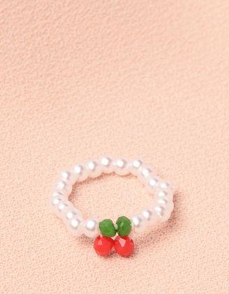 Кільце із перлин з вишнями | 249421-01-XX - A-SHOP