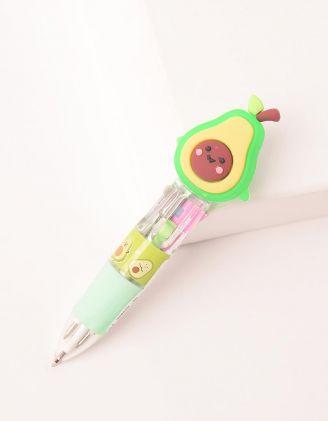 Ручка багатокольорова з авокадо | 250047-20-XX - A-SHOP