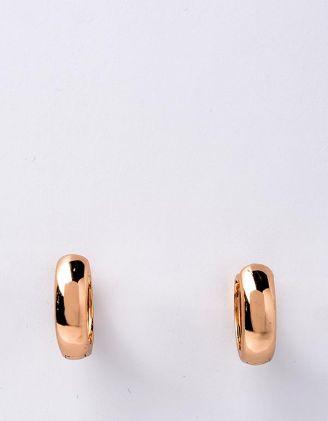 Сережки маленькі кільця містять срібло | 215447-04-XX - A-SHOP