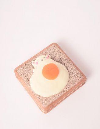 Блокнот із сквішем у вигляді тоста з яєчнею | 248685-22-XX - A-SHOP