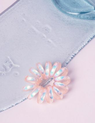 Резинка для волосся пружинка голографічна | 241701-44-XX - A-SHOP